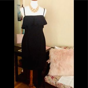 Karl Lagerfeld Paris- black dress. Zip back size 6
